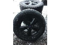 FORD TRANSIT ALLOYS AND GREAT TYRES