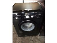 BLACK BEKO 1400RPM WASHING MACHINE, EXCELLENT CONDITION