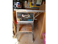 Draper table saw and stand