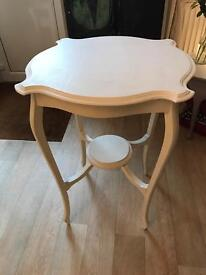 Vintage white table for sale
