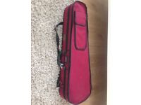 Stentor 3/4 (three quarter) size violin case - red