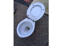 Shires porcelain toilet