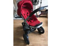 Red quinny buzz travel system