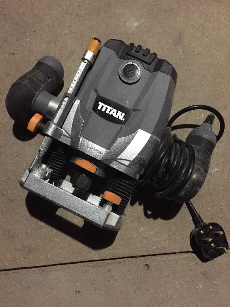 """Titan ½"""" Router 240V"""