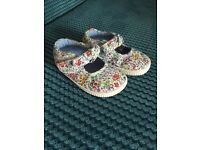 Selection of baby girl shoes