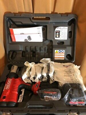 Ridgid Rp340 Propress With Kit Jaws Crimpers Tool 12 - 2