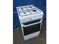 Gas cooker Indesit 500 wide only 6 months old hardly been used