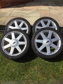 """Ford Fiesta 7 spoke 16"""" alloy wheels"""