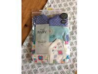 Brand new baby girl sleepsuits/baby grows