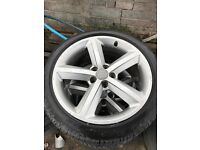 Audi A4 S Line alloy Wheels and Tyres