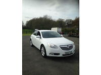 Vauxhall Insignia Exclusive 1.8i 16v 5dr - 1 owner from new - MOT until Feb 2018