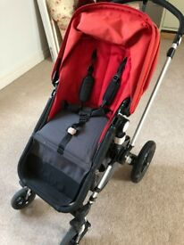 Bugaboo Chameleon Travel System - suitable from birth - carrycot, pram, buggy