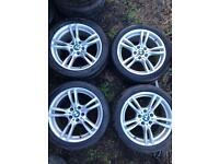 """18 inch Genuine BMW M Sport Alloy Wheels. 18"""""""