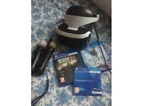 PlayStation VR PSVR virtual reality headset bundle