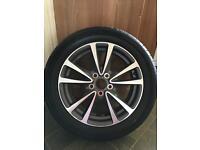 "Toyota avensis new Diamond cut wheel and tyre 17"""