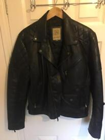 Real Leather Biker