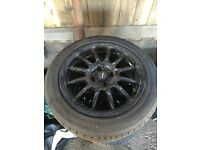 Pro race 1.2 Team Dynamics 4x100 7j 15inch two sets of tyres