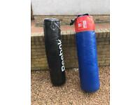 2x punchbags for sale