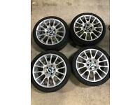 Bmw 3 series 320si motorsport ally wheels and tyres