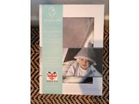 Baby blanking hooded travel blanket