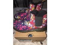 Dr Martens floral Chelsea boots