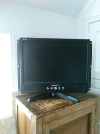 """Hannspree 19"""" LCD Monitor excellent condition and working order"""
