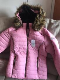 Pink jacket medium