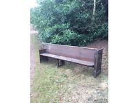 (Approx 50 no.) old Church Pews for sale - various sizes