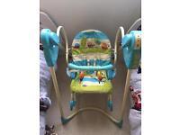 3-in1 Fisher Price Swing&Rocker Newborn to Toddler