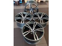 "NEW 19 inch wheels set 19"" for BMW F10 F12 F13 F06 M6 E60 M343 style rims R20 UK Delivery"