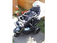 Double Pushchair in excellent condition