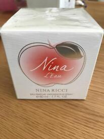 NINA RICCI NINA L'EAU EAU FRAICHE 50ML SPRAY - BRAND NEW SEALED IN BOX.