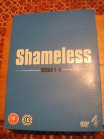 Shameless - DVD box set series 1 to 4