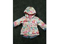 Baby girl summer jacket