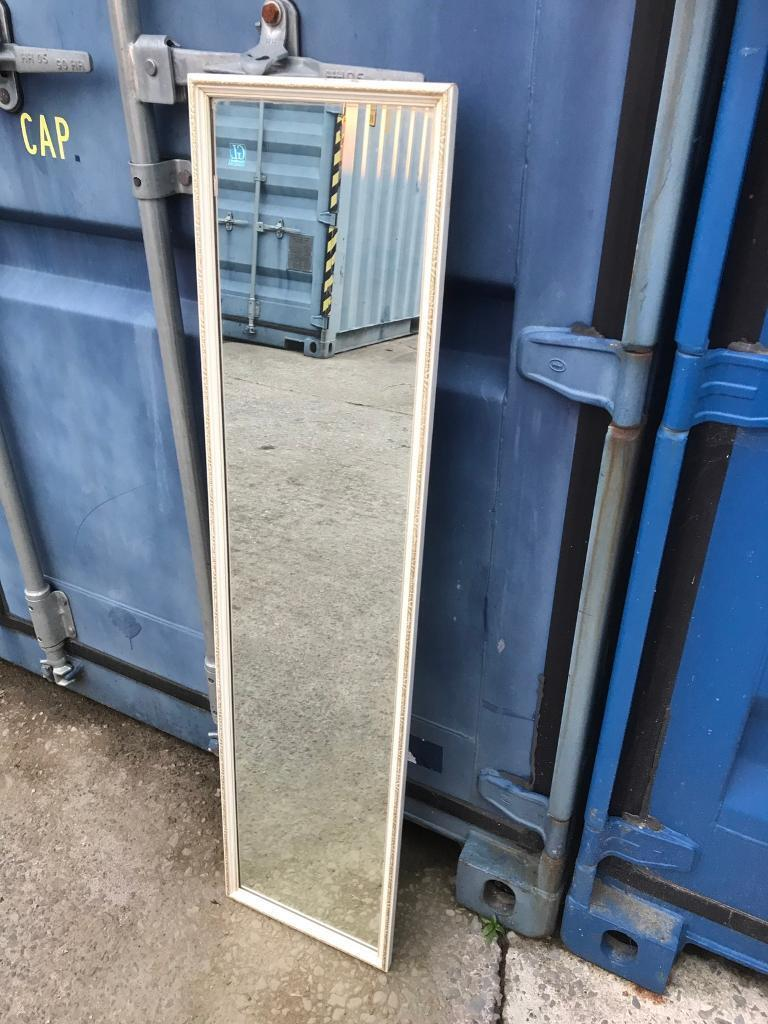 Long narrow gilt edge mirror FREE DELIVERY PLYMOUTH AREA