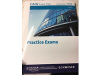 CAIA Level 1 September 2016 Practice Exam Book - New £40 - Official Book
