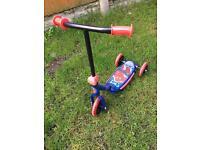 Spider-Man scooter
