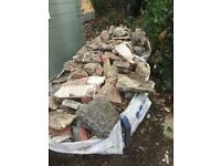 2 big bags of Free rubble