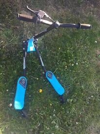 Kids flicker scooter