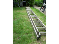 Ladder alloy 2 section no more than 30 foot good condition