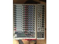 Peavy PV 14 live mixing desk (MONITOR FEED NOT WORKING)