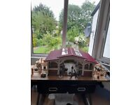 Schleich horses and stables in very good condition