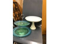 Lovely cake stands for cheap!