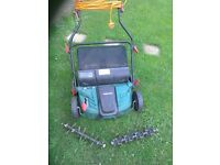 Scarifier and aerator