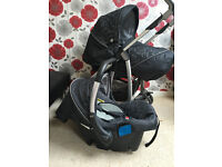 silver cross 3d travel system charcoal