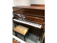 Welmar 126 British Modern Upright Piano made in England 1982 - FREE DELIVERY 2YR WTY