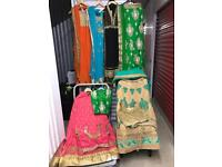 Job lot bargain - NEW - 3 Indian suits, 3 Indian lengha's