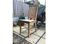 Ikea Oak Dining Chair - 4 available