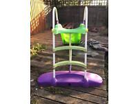 Large slide - also water slide