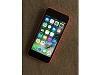 iPhone 5c Unlocked pink Good condition